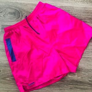 Women's track shorts